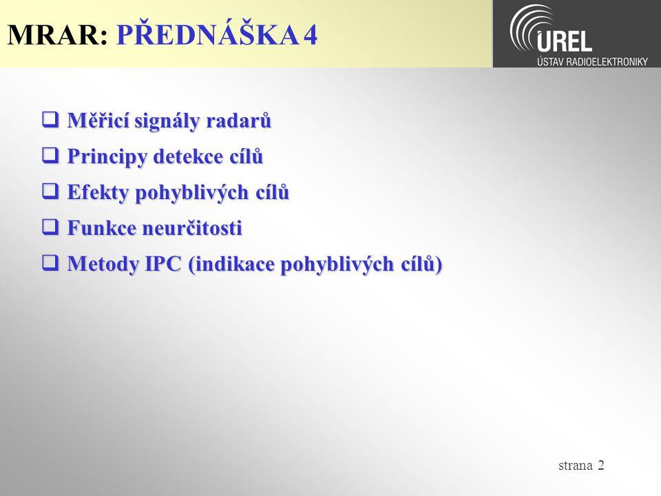 strana 43 MRAR-P4: Funkce neurčitosti (4/6)  Funkce neurčitosti pro IM-LFM