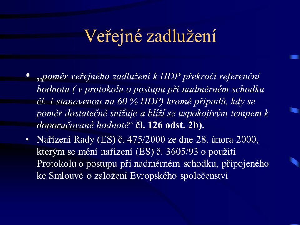 Stabilita směnného kurzu Čl.140 SFEU odst.