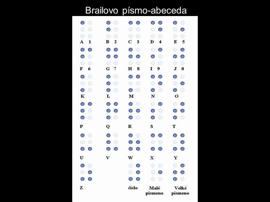 Brailovo písmo-abeceda