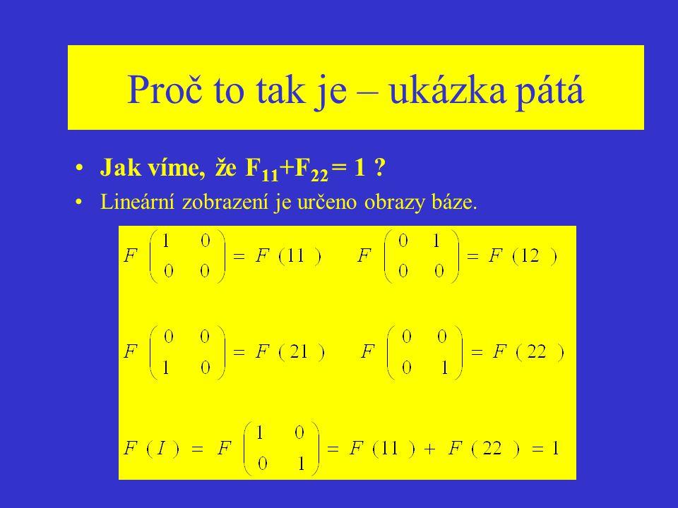 Nekomutativní geometrie-příklad GNS-reprezentace algebry matic M 2 (C) komutativní podalgebra A = {T | diag (,  )} charaktery f(T)= ,g(T)= rozšíření