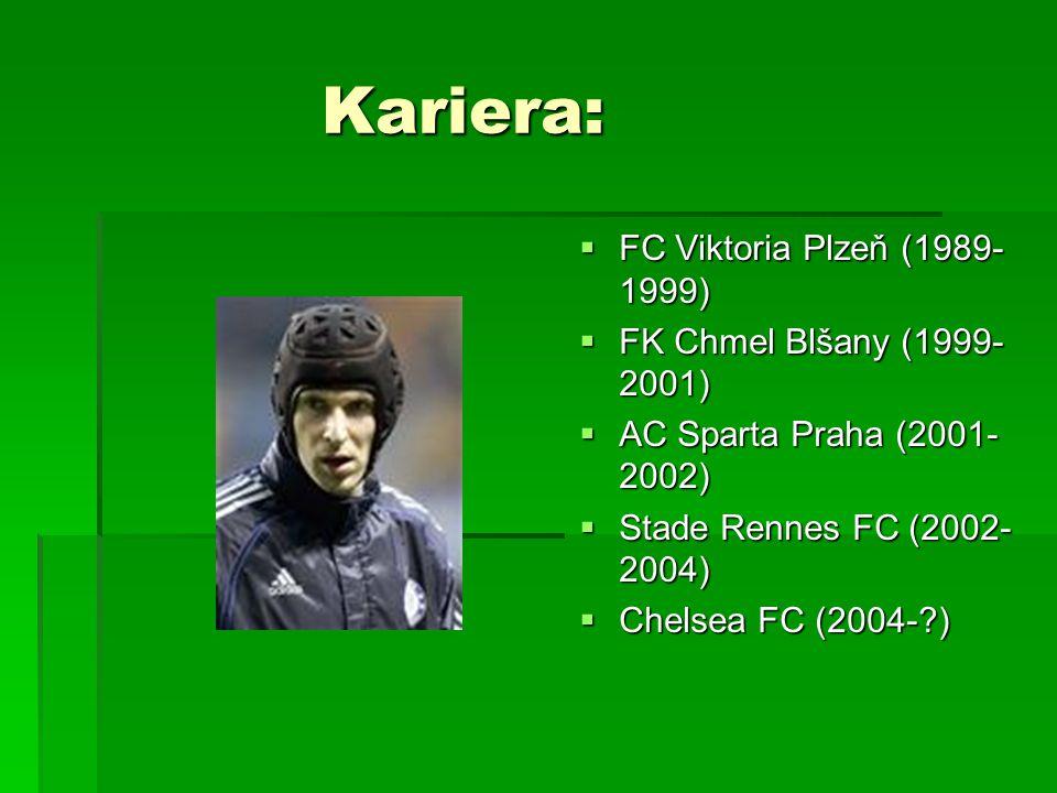 Kariera: Kariera:  FC Viktoria Plzeň (1989- 1999)  FK Chmel Blšany (1999- 2001)  AC Sparta Praha (2001- 2002)  Stade Rennes FC (2002- 2004)  Chel
