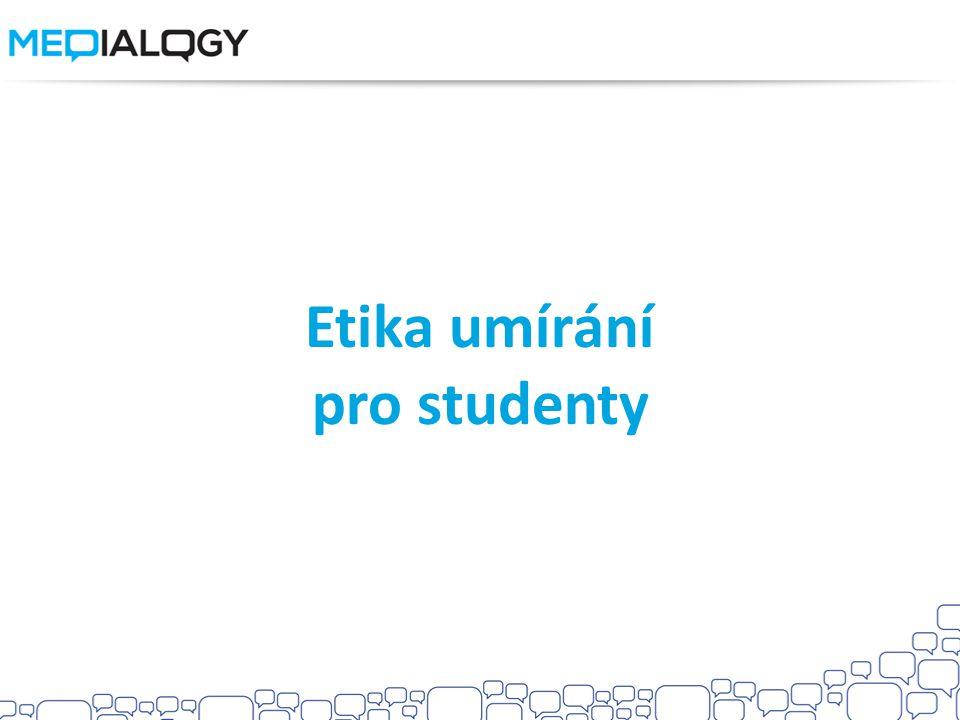 Etika umírání pro studenty