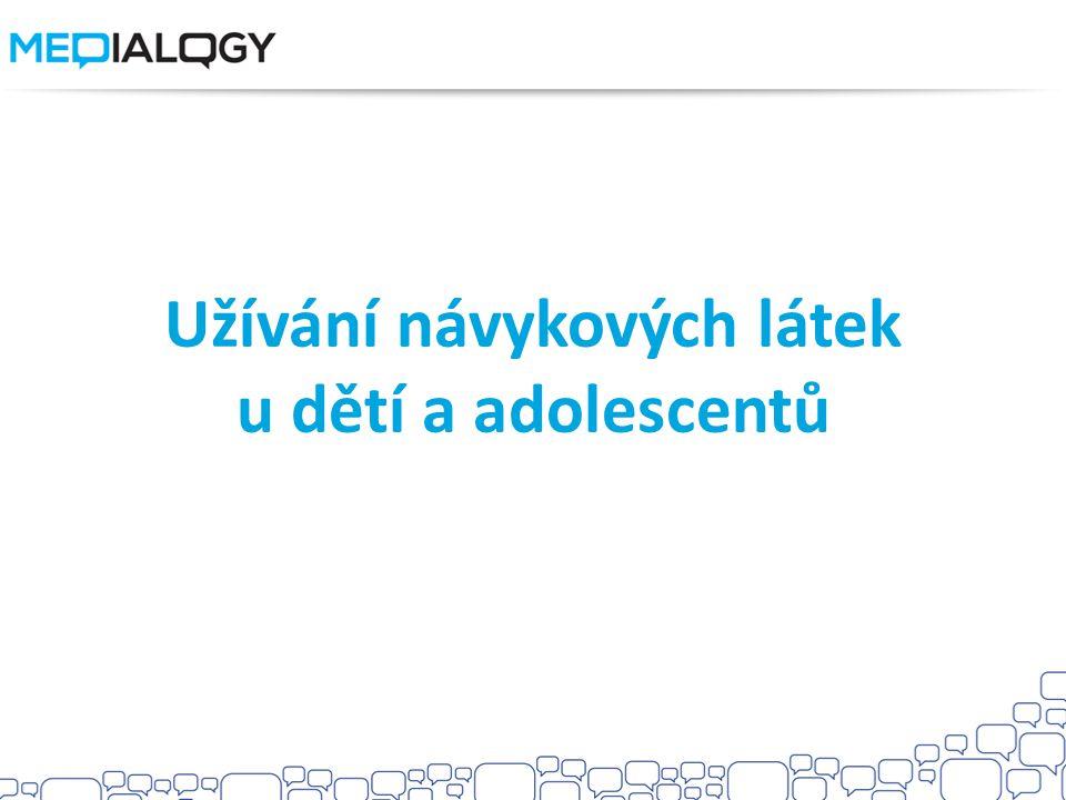 Užívání návykových látek u dětí a adolescentů
