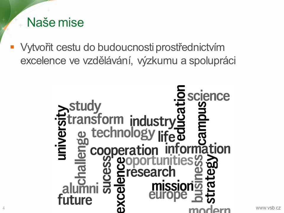 Výzkum a vývoj 15  Důraz kladený na aplikovaný výzkum a vývoj  Spolupráce s průmyslem jako základ výzkumu  Propojení tradičních oborů (hornického, metalurgického a strojírenského průmyslu) s novými technologiemi, jako jsou např.