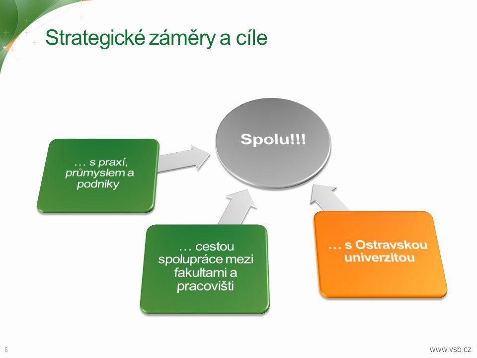 Vedení univerzity www.vsb.cz 7 Prof.Ing. Jaromír Gottvald, CSc.