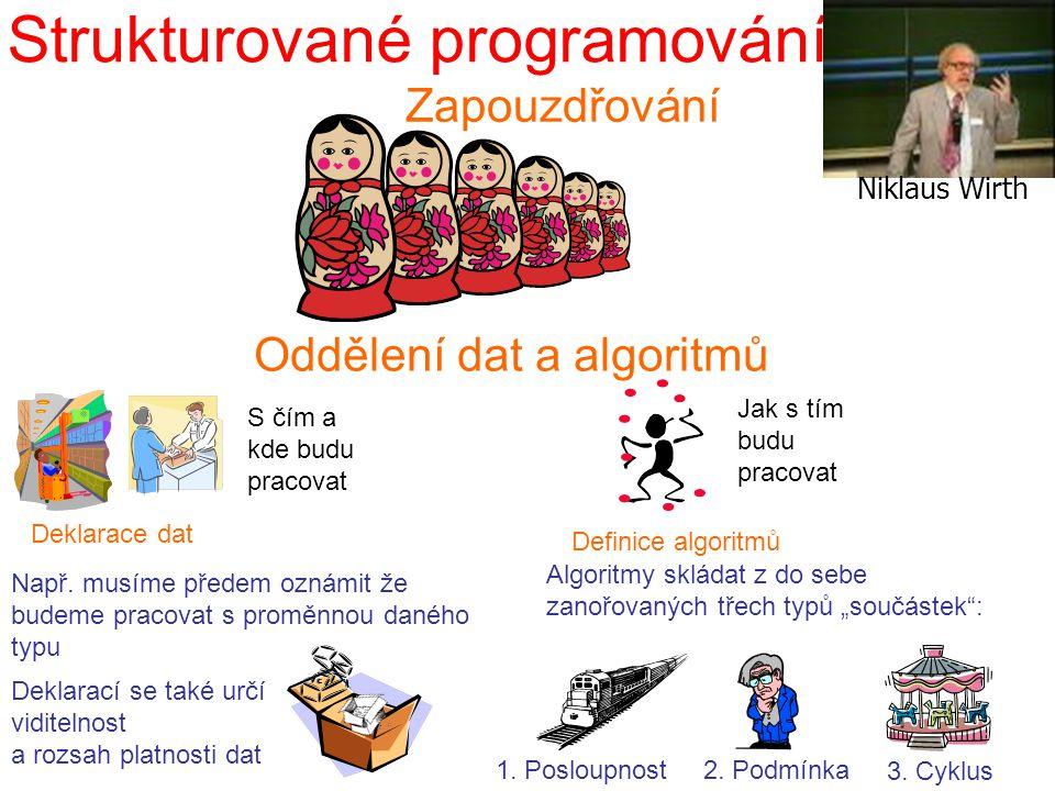 Strukturované programování – definice algoritmů 1.