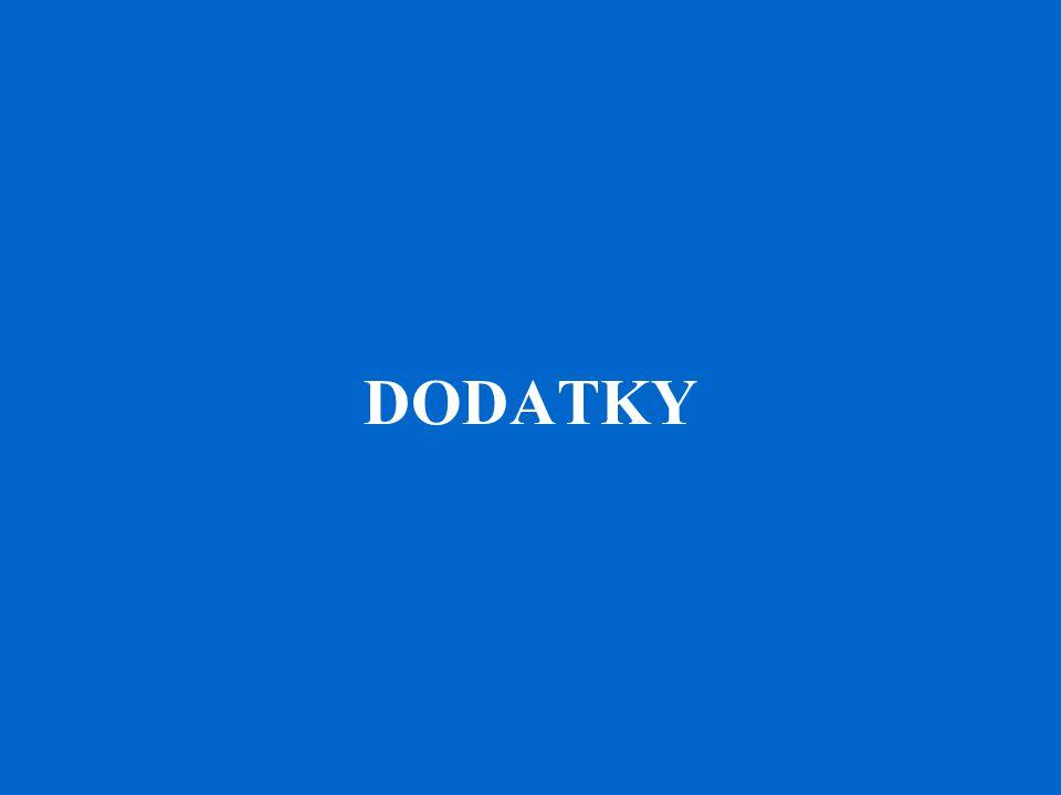 DODATKY