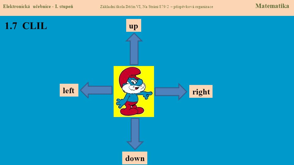 1.7 CLIL Elektronická učebnice - I.