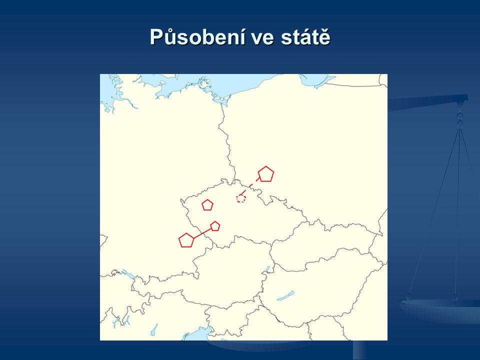 Působení ve státě