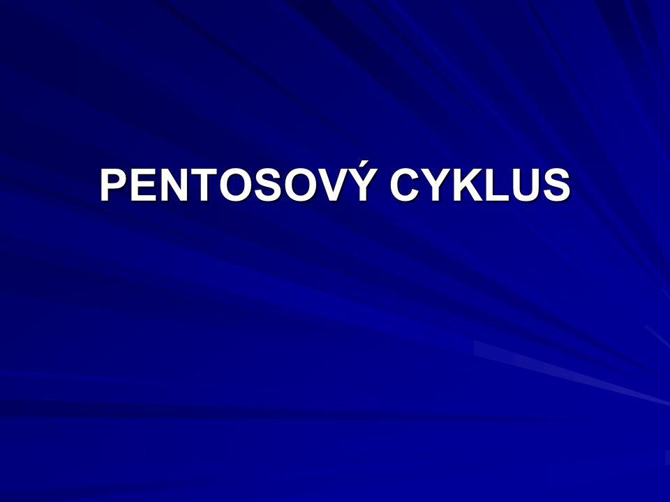 PENTOSOVÝ CYKLUS