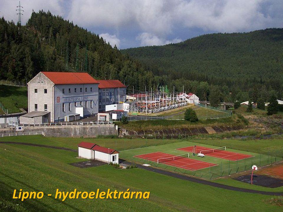 Lipno - hydroelektrárna