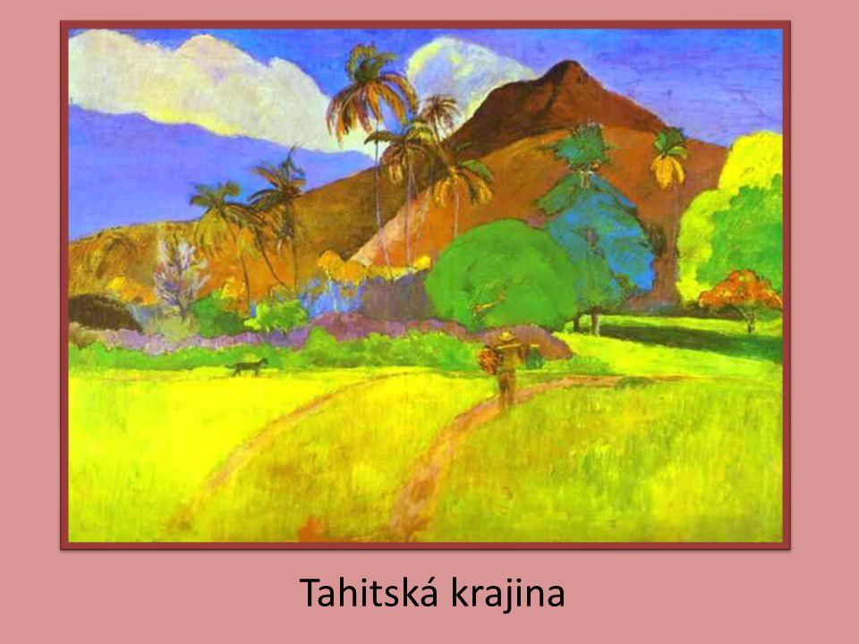 Tahitská krajina