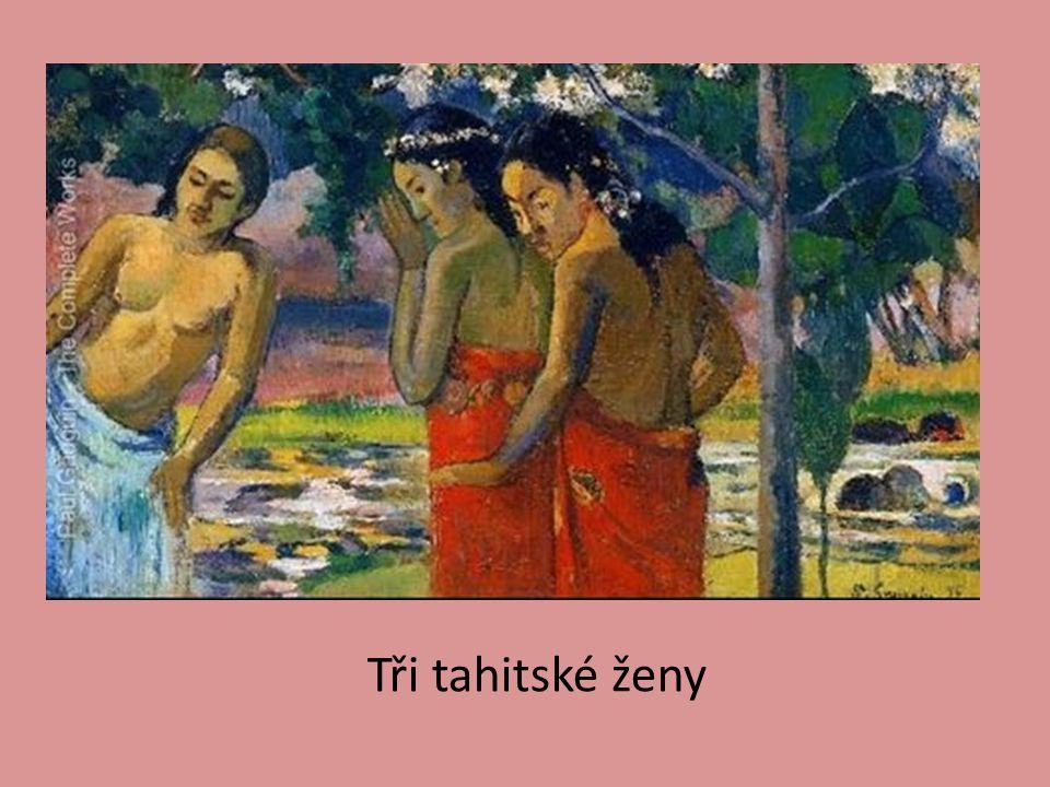 Tři tahitské ženy