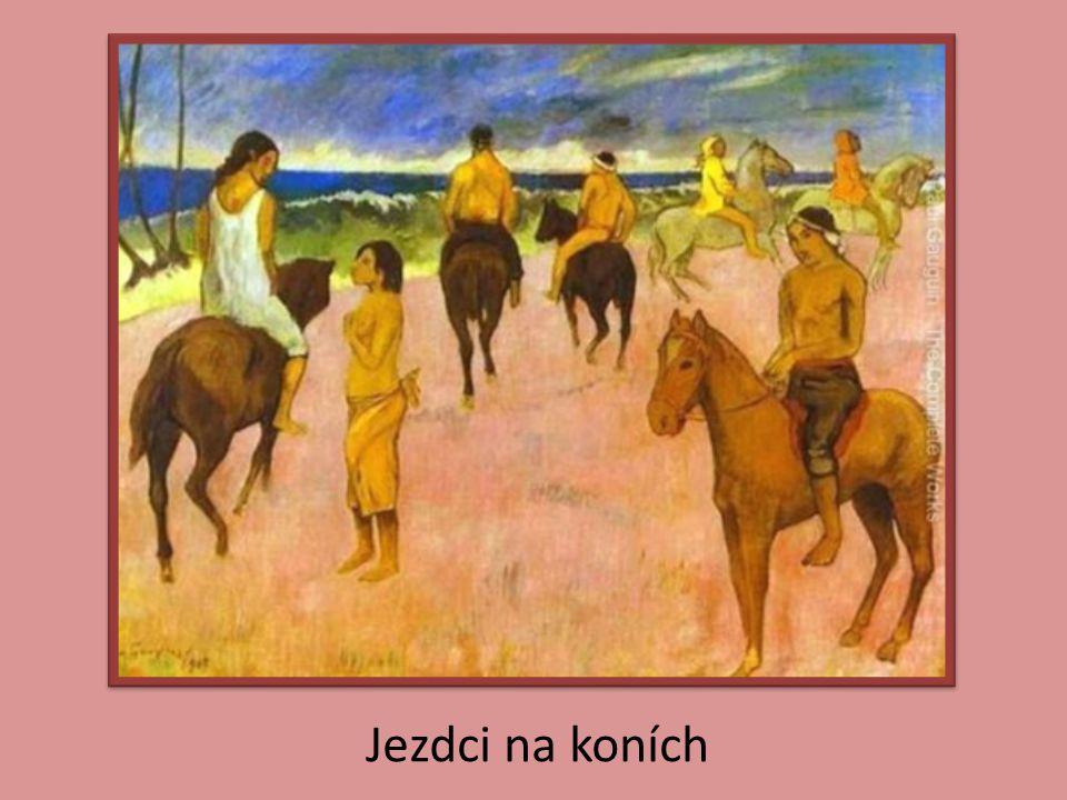 Jezdci na koních
