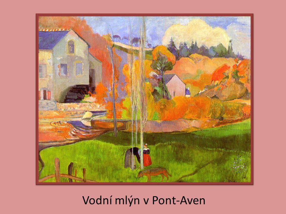 Vodní mlýn v Pont-Aven