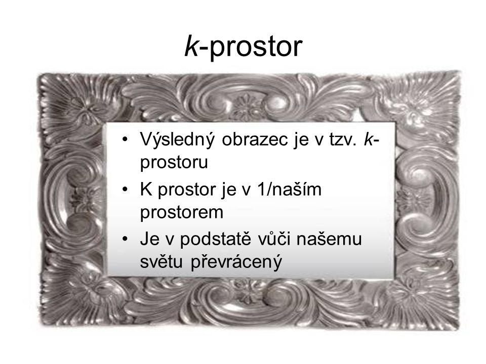 k-prostor Výsledný obrazec je v tzv.