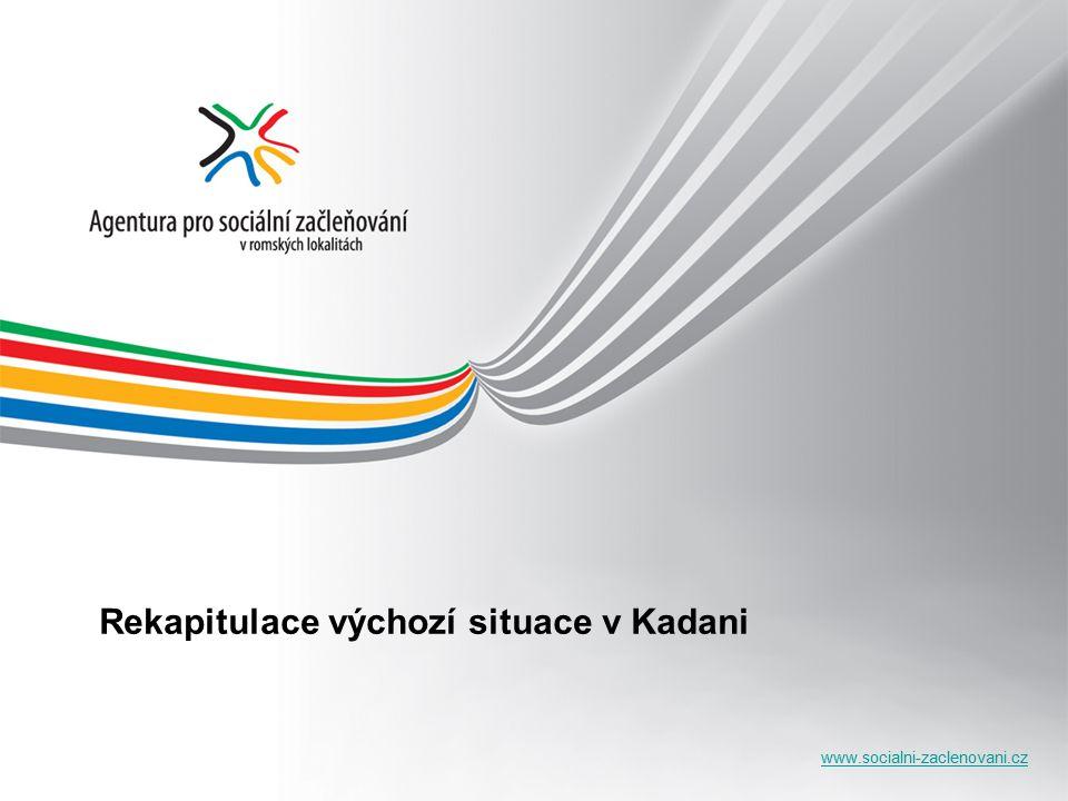 www.socialni-zaclenovani.cz Rekapitulace výchozí situace v Kadani