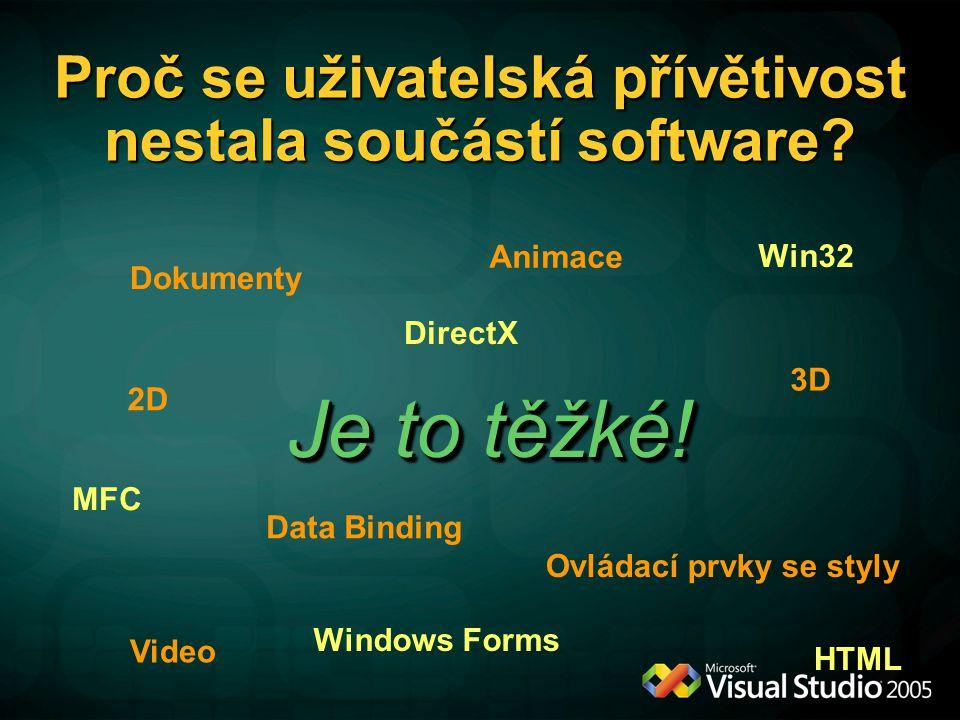 Windows Presentation Foundation Dalibor Kačmář Academic Deloper Evangelist Microsoft s.r.o.