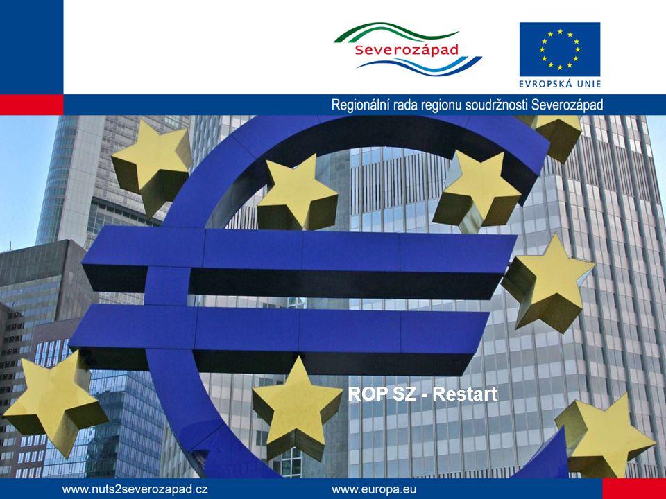 ROP SZ Rekapitulace: - program od března 2011 necertifikuje - od léta 2012 neproplácí