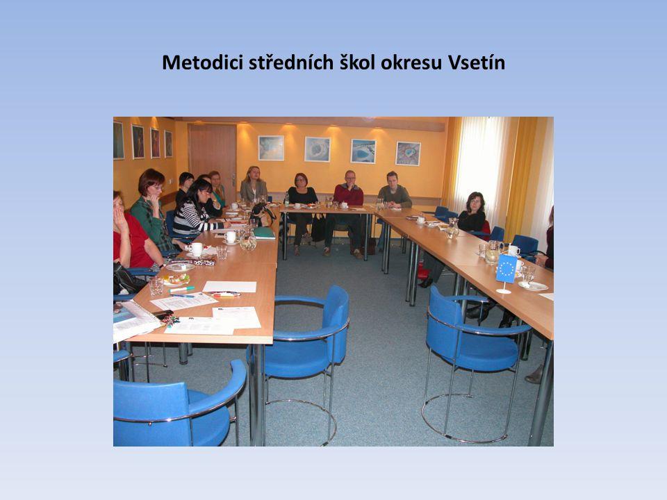 Metodici středních škol okresu Vsetín