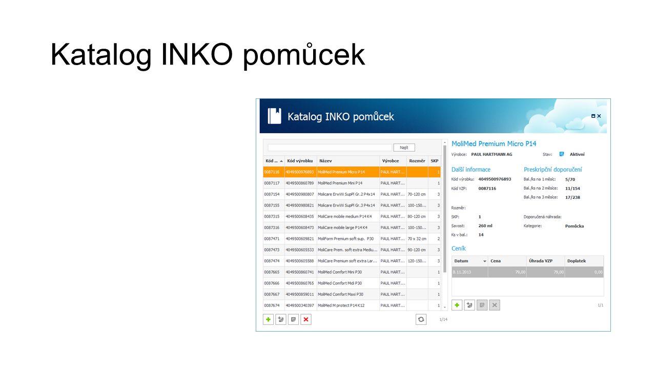 Katalog INKO pomůcek