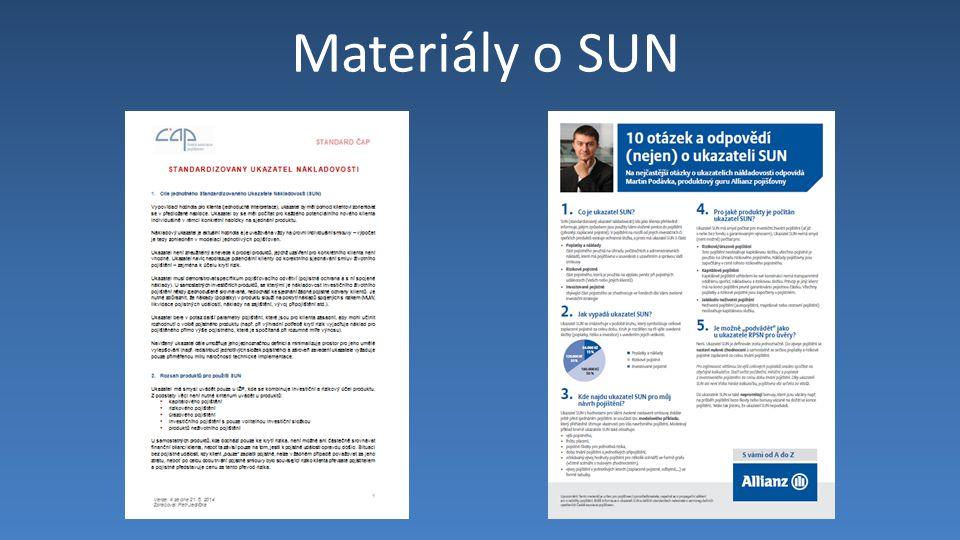 Materiály o SUN