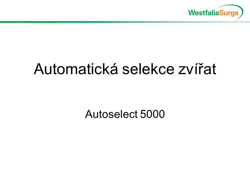 Automatická selekce zvířat Autoselect 5000
