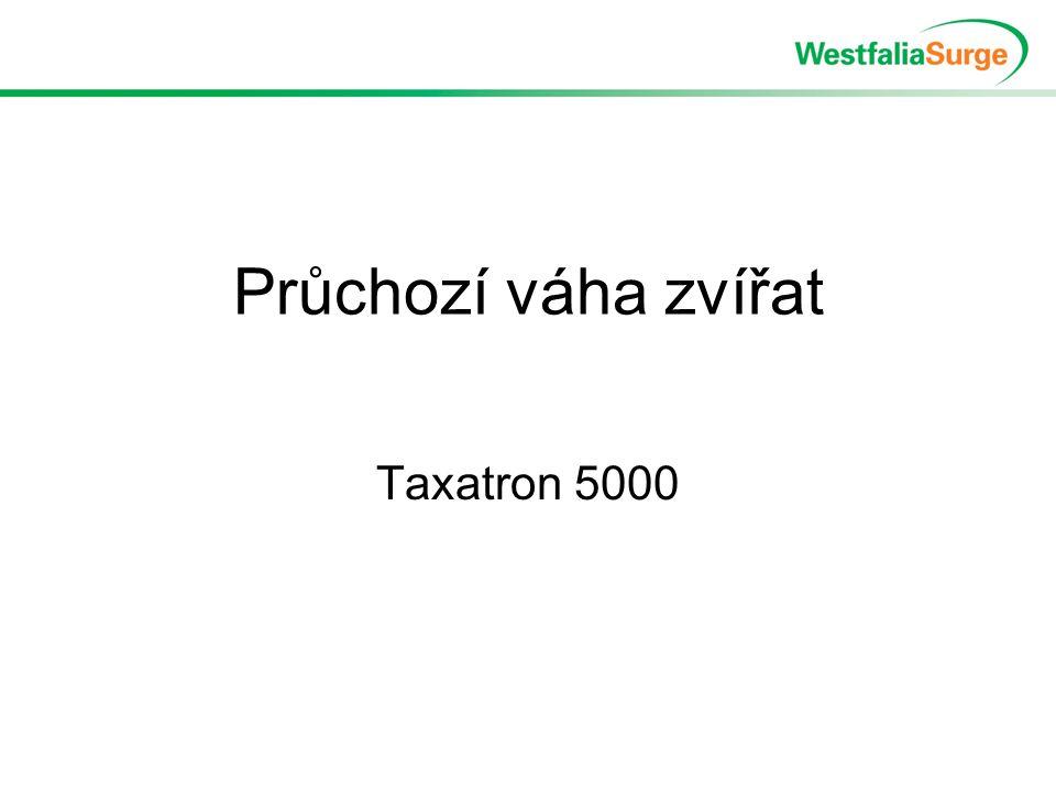 Průchozí váha zvířat Taxatron 5000