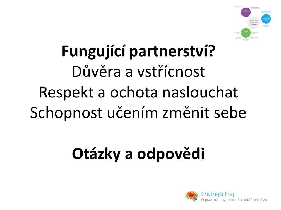 Fungující partnerství.