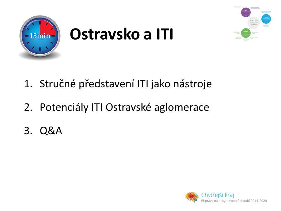 Ostravsko a ITI 1.Stručné představení ITI jako nástroje 2.Potenciály ITI Ostravské aglomerace 3.Q&A