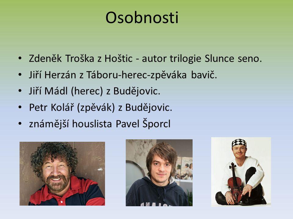 Památky Zámek v Hluboké nad Vltavou Zámek v Českém Krumlově