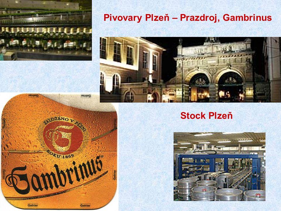 Stock Plzeň Pivovary Plzeň – Prazdroj, Gambrinus