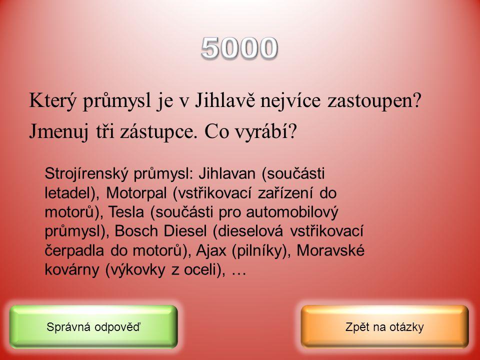 Jak mohou obyvatelé Jihlavy cestovat po městě nebo do vzdálenějšího okolí? Zpět na otázkySprávná odpověď Městská hromadná doprava (autobusy, trolejbus