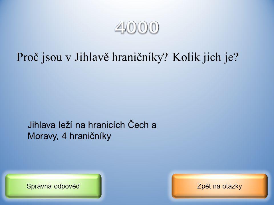 V jakém století vzniklo město Jihlava a díky čemu bohatlo a rychle se rozvíjelo? Zpět na otázkySprávná odpověď 13. století, těžba stříbra, ražba mincí