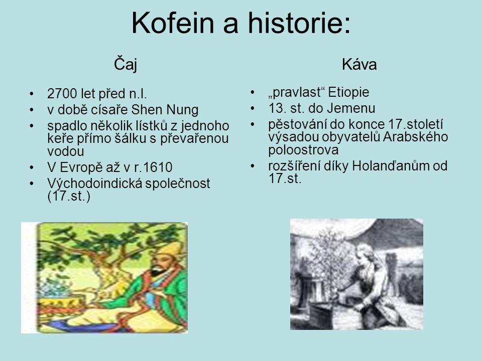 Kofein a historie: 2700 let před n.l.