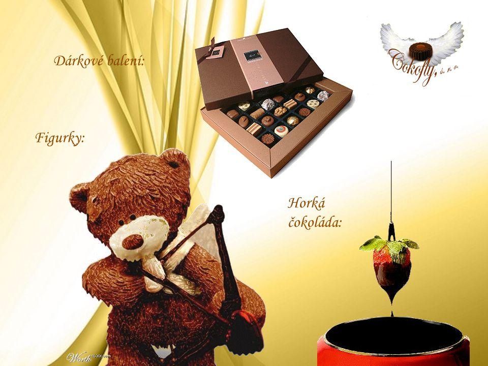 Figurky: Horká čokoláda: Dárkové balení:
