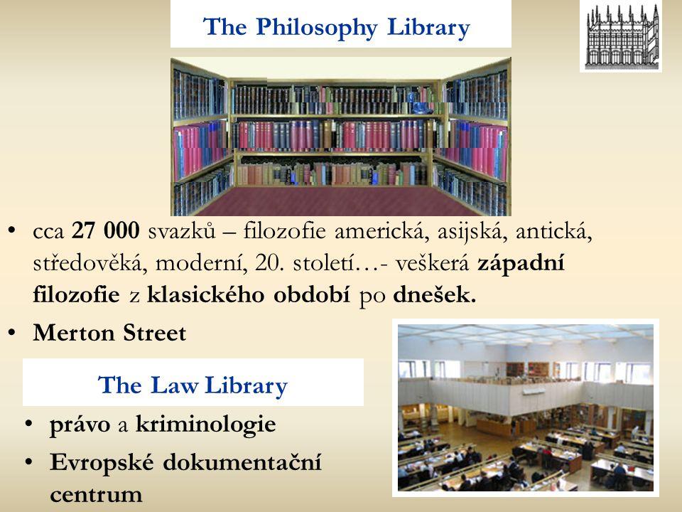 The Philosophy Library cca 27 000 svazků – filozofie americká, asijská, antická, středověká, moderní, 20. století…- veškerá západní filozofie z klasic