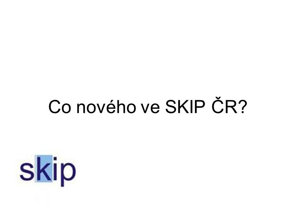 Co nového ve SKIP ČR