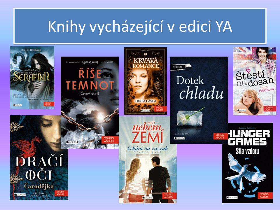 Knihy vycházející v edici YA