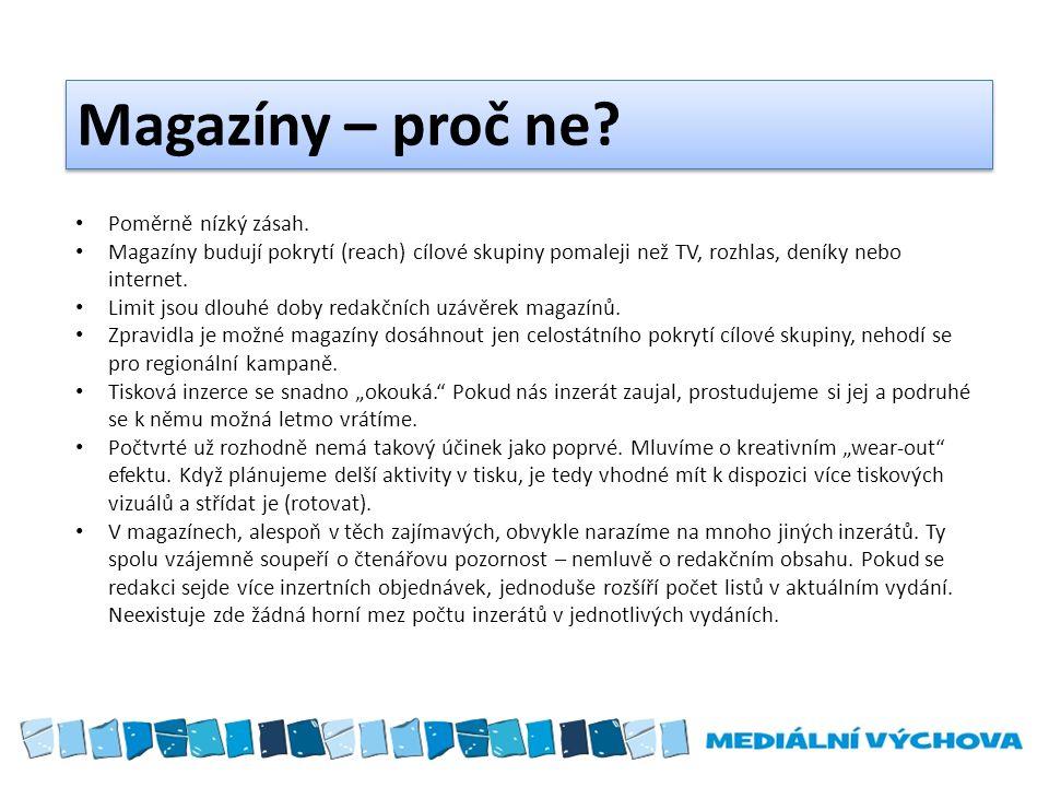 Suplementy jsou (programové) přílohy deníků, sešity magazínového formátu.