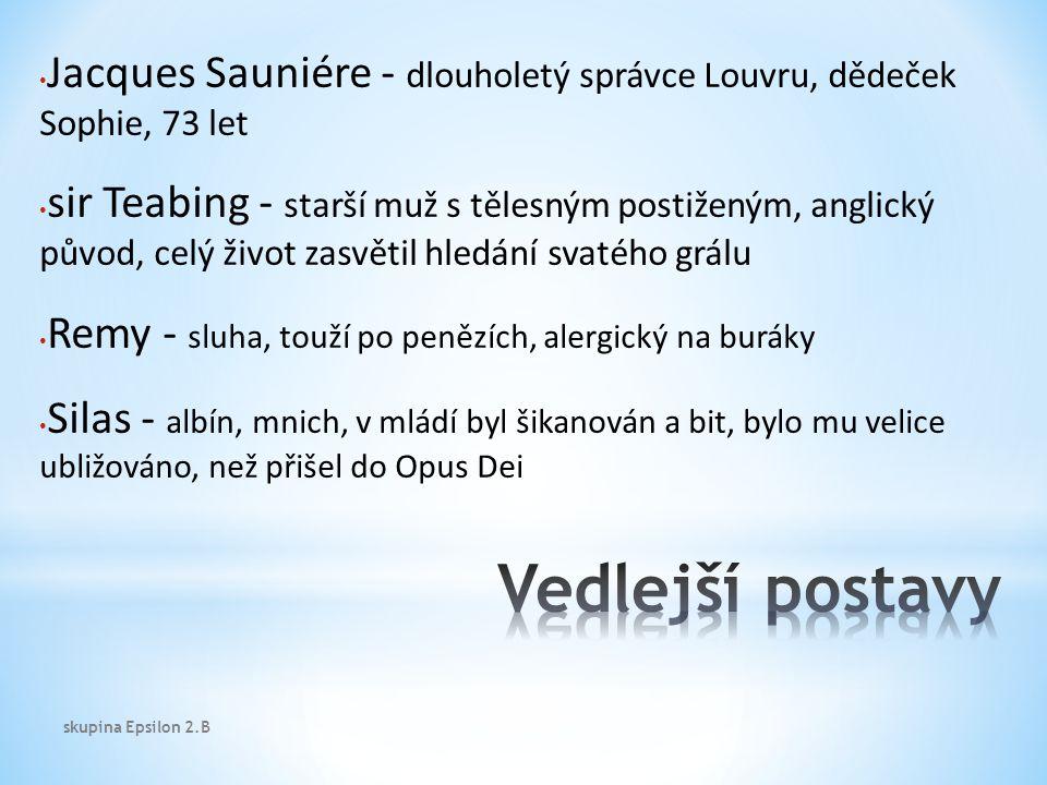 Správce Sauniére je zavražděn v Louvru.