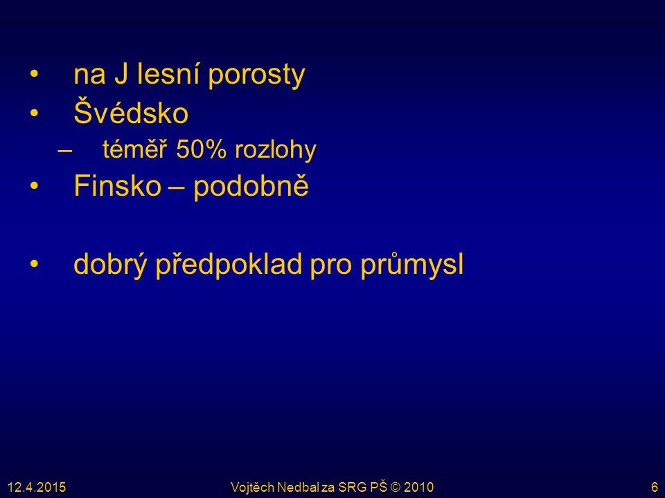 12.4.2015Vojtěch Nedbal za SRG PŠ © 201017