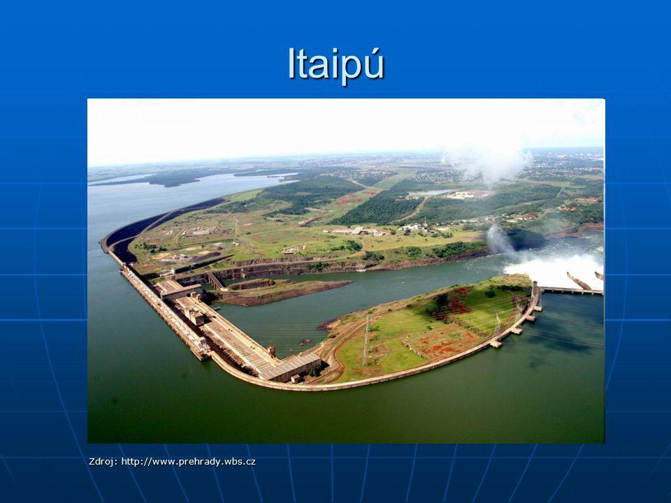 Itaipú Zdroj: http://www.prehrady.wbs.cz
