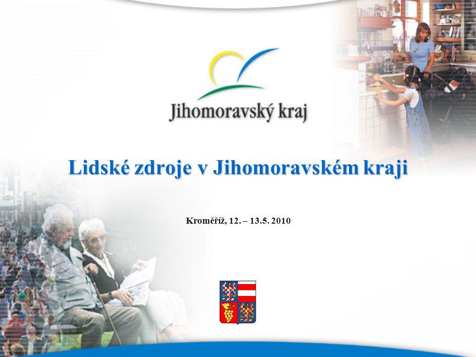 Lidské zdroje v Jihomoravském kraji Kroměříž, 12. – 13.5. 2010