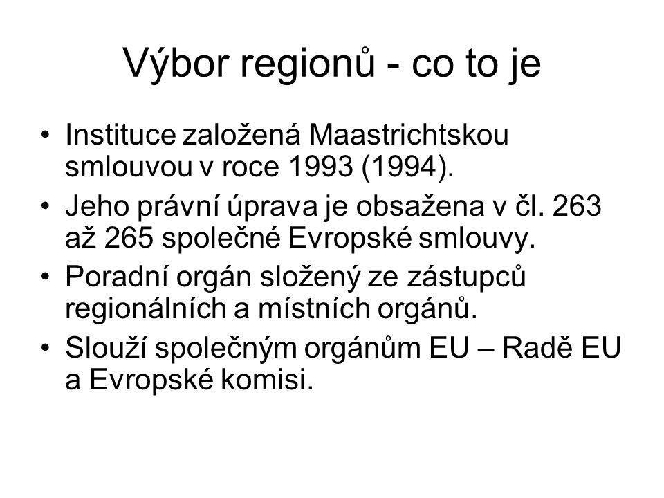 Úloha venkovských obcí při zhodnocování evropských území Stanovisko Výboru regionů ze 7.