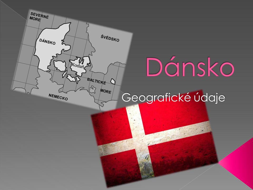  Dánsko leží na Jutském poloostrově a na 443 pojmenovaných ostrovech.
