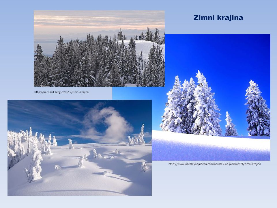http://www.obrazkynaplochu.com/obrazek-na-plochu/426/zimni-krajina http://bernardi.blog.cz/0912/zimni-krajina Zimní krajina