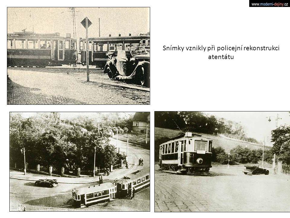 Snímky vznikly při policejní rekonstrukci atentátu