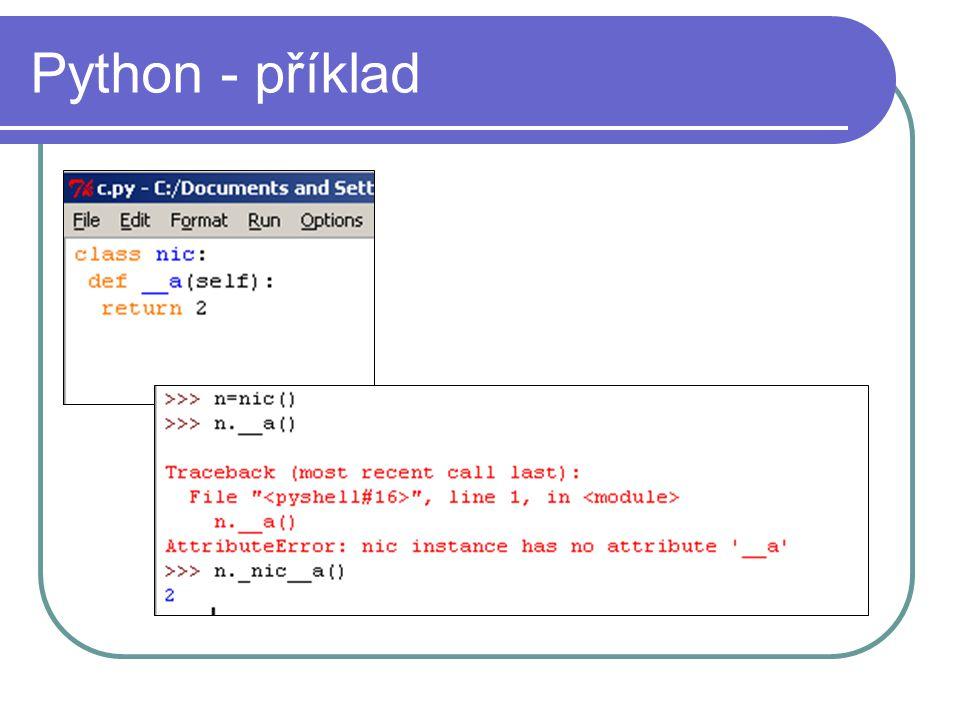 Python - příklad