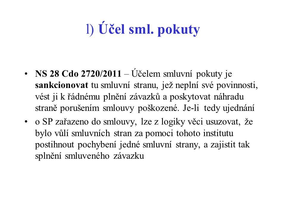 UD ve vztahu k úrokům NS 32 Cdo 2421/2009 – UD nedochází automaticky též k uznání příslušenství.